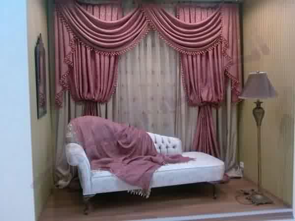 yatak odası perde çeşitleri